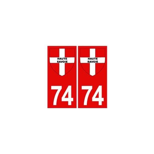 74 haute savoie autocollant plaque fond rouge blason croix savoie droits ebay. Black Bedroom Furniture Sets. Home Design Ideas