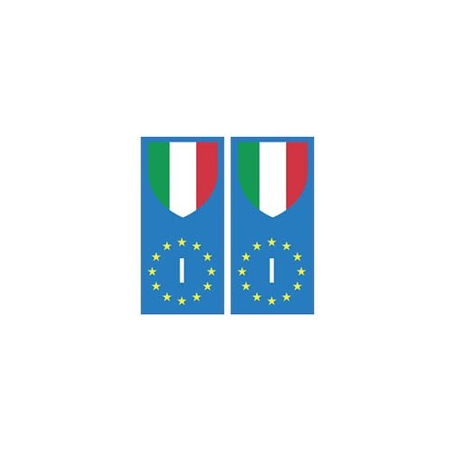 italie italy europe drapeau autocollant arrondis ebay. Black Bedroom Furniture Sets. Home Design Ideas
