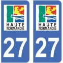 27 Eure sticker plate