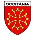 Autocollant Occitanie occitania blason sticker
