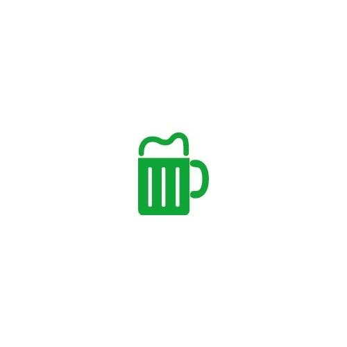 Autocollant chope de bière stickers