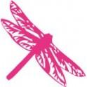 Sticker dragonfly stickers pink
