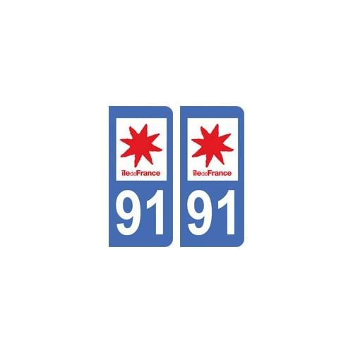 100% Quality 973 Guyane Departement Immatriculation 2 X Autocollants Sticker Auto Auto, Moto – Pièces, Accessoires Badges, Insignes, Mascottes