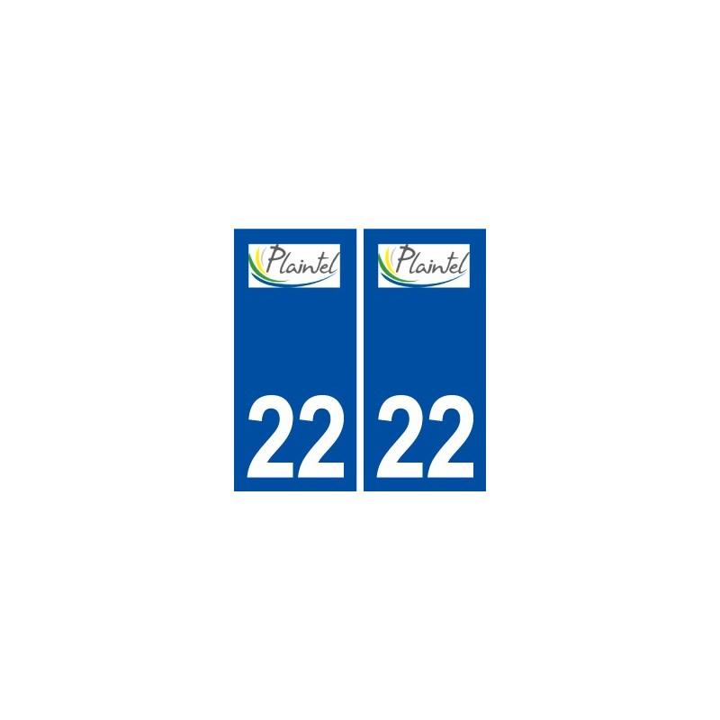 22 plaintel logo ville autocollant plaque immatriculation d partement. Black Bedroom Furniture Sets. Home Design Ideas