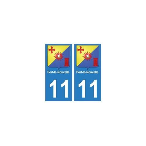11 Port-la-Nouvelle ville autocollant plaque