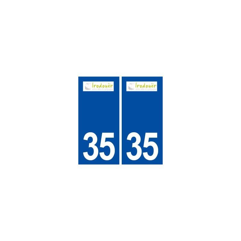 35 irodou r logo autocollant plaque immatriculation stickers ville. Black Bedroom Furniture Sets. Home Design Ideas