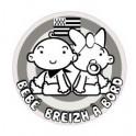 Autocollant sticker Bébé à Bord Bretagne Breizh Breton logo 4