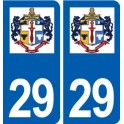 29 Plouider logo sticker plate stickers city