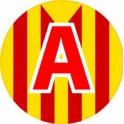 A jeune conducteur apprenti autocollant adhésif Catalan drapeau