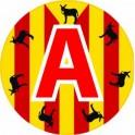 A jeune conducteur apprenti autocollant adhésif Catalan multi-burro