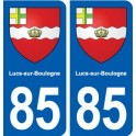 85 Lucs-sur-Boulogne blason autocollant plaque stickers ville
