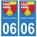 06 Roquebrune-Cap-Martin sticker plate