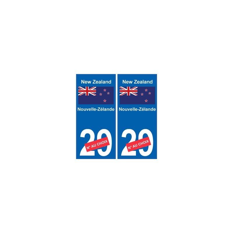 Automobilia 100% Quality 973 Guyane Departement Immatriculation 2 X Autocollants Sticker Auto Auto, Moto – Pièces, Accessoires