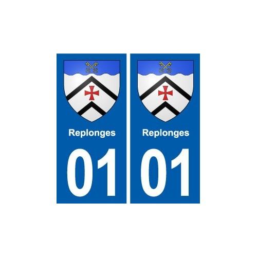 Auto, Moto – Pièces, Accessoires Badges, Insignes, Mascottes 46 Lot Departement Immatriculation 2 X Autocollants Sticker Easy To Use