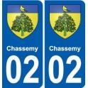 02 Barisis blason ville autocollant plaque sticker