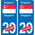 Sticker Singapore Singapore sticker number department choice plate registration auto