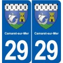 29 Camaret-sur-Mer blason autocollant plaque stickers ville