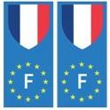 France Europe Drapeau Autocollant