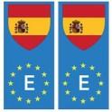 Espagne europe drapeau Autocollant