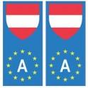 Austria Österreich europe flag Sticker