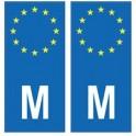 Malte Malta europe autocollant plaque
