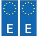 Spain España europe sticker plate