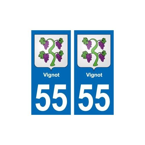 55 Ancerville blason autocollant plaque stickers ville