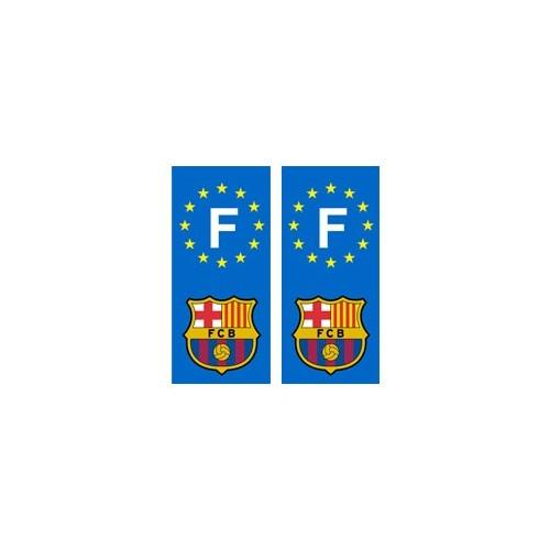 Barça Barcelone autocollant Foot