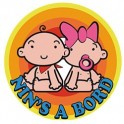 Sticker Nin's Edge Baby