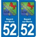 52 Wassy blason autocollant plaque stickers ville
