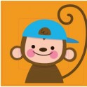Stickers Monkey sticker autocollant interrupteur