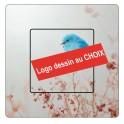 Stickers personnalisé au choix logo dessin sticker autocollant interrupteur muraux