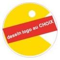 Sticker au choix personnalisé autocollant bonde lavabo évier bouchon