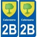 2A Vico blason autocollant plaque stickers ville