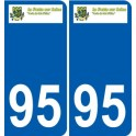94 Créteil logo decal sticker plate registration city