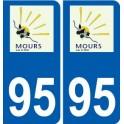 94 Créteil logo decal sticker plate registration city