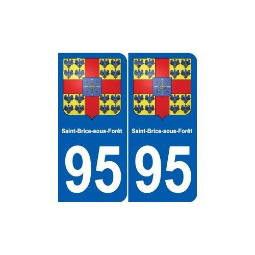 95 Argenteuil blason autocollant plaque stickers ville