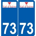 73 Barberaz logo sticker plate stickers city