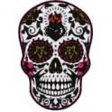 Sticker skull muerta 02 skull stickers adhesive
