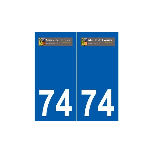 74 Faverges logo sticker plate stickers city