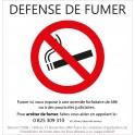 Interdiction de fumer 02 autocollant sticker adhesif