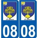 27 Léry logo aufkleber typenschild aufkleber stadt