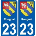 27 Léry coat of arms sticker plate stickers city