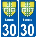29 Penmarch coat of arms sticker plate stickers city