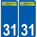 31 Penmarch logo adesivo piastra adesivi città