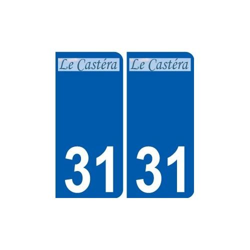31 Penmarch logo sticker plate stickers city