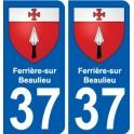 37 Penmarch stemma adesivo piastra adesivi città