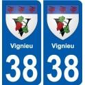 38 Penmarch blason autocollant plaque stickers ville