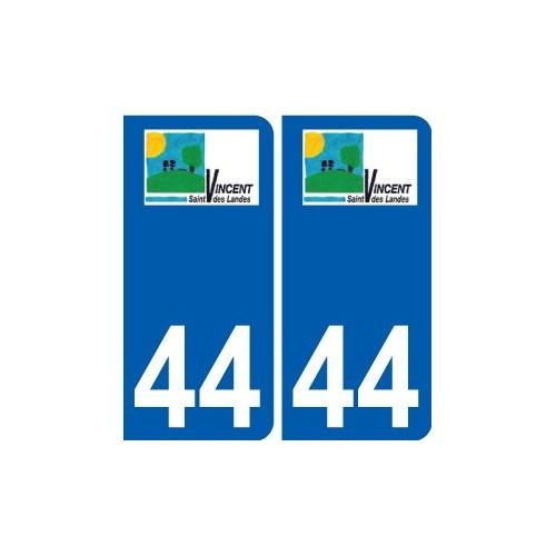 44 Penmarch logo sticker plate stickers city
