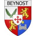 Beynost 01 ville Stickers blason autocollant adhésif
